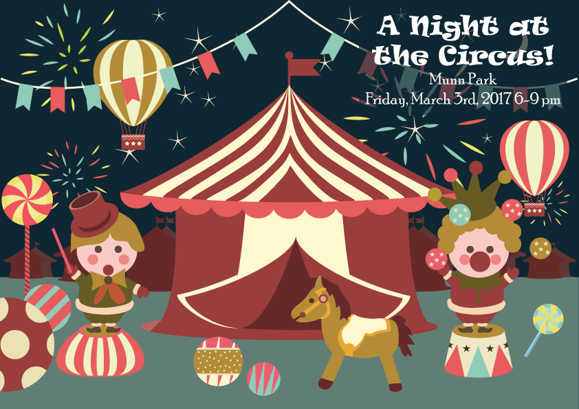 """First Friday – """"A Night at the Circus!"""""""